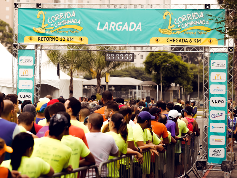 Largada Corrida Shopping Taboão